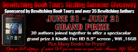 Betwitching Book Tours Summer Giveaway
